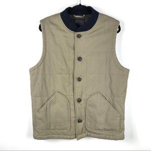 Pendleton Men's Large Tan Canvas Journey Vest